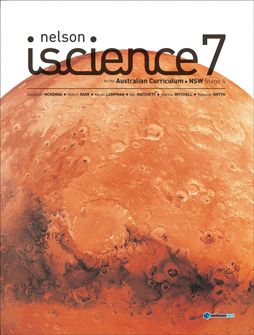 Nelson iScience 7 for the Australian Curriculum NSW Stage 4 (Student Book with 4 Access Codes)