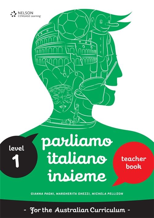 Parliamo Italiano Insieme 1 Teacher's Edition with CD