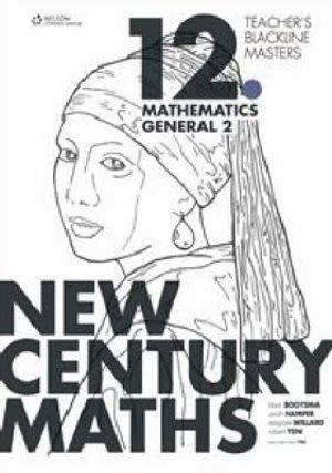New Century Maths 11 Mathematics General Teacher's Blackline Masters