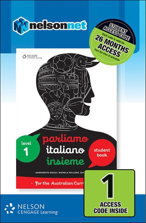 Parliamo Italiano Insieme 1 (1 Access Code Card)