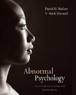 Bundle: Cengage Advantage Books: Abnormal Child Psychology + Abnormal Psychology : An Integrative Approach