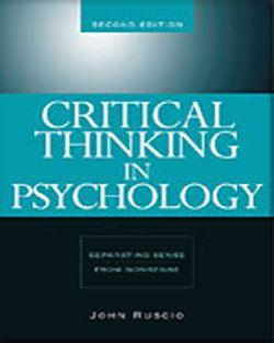 Bundle: Critical Thinking in Psychology + Communications Toolkit