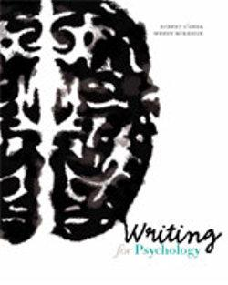Bundle: Writing for Psychology + Pocket Guide to APA Style