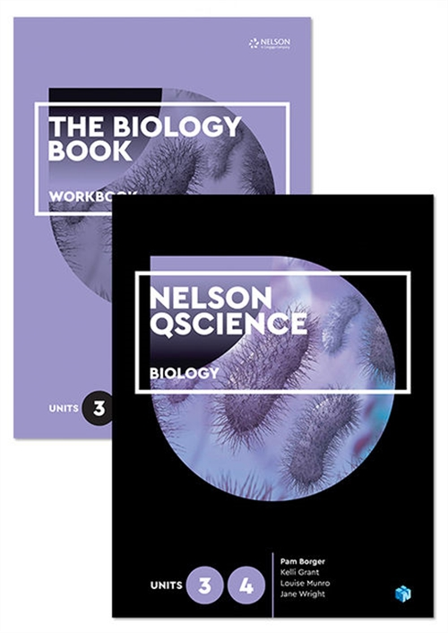 Nelson QScience Biology Student Pack Units 3 & 4