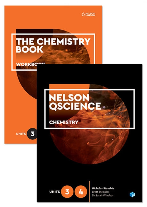 Nelson QScience Chemistry Student Pack Units 3 & 4