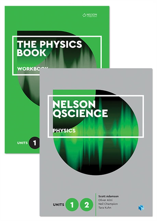 Nelson QScience Physics Student Pack Units 1 & 2