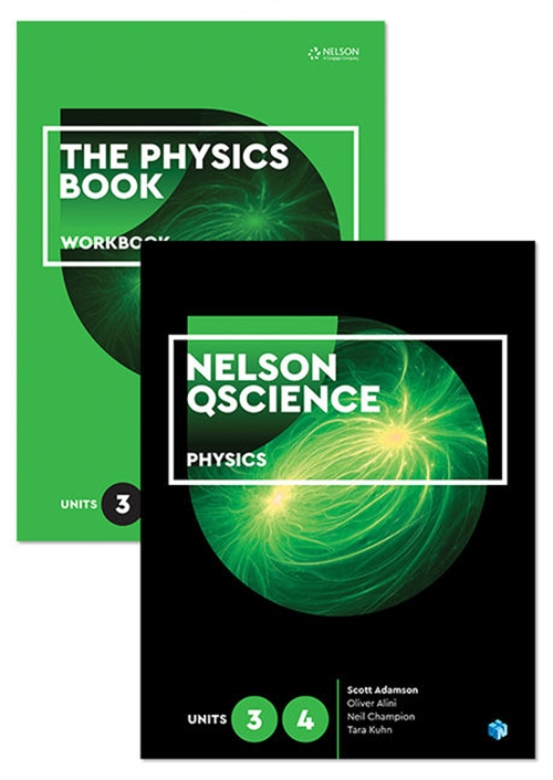 Nelson QScience Physics Student Pack Units 3 & 4