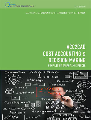 CP0937 - ACC2CAD Cost Accounting & Decision Making