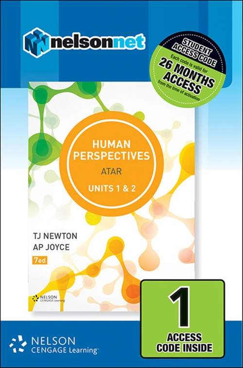 Human Perspectives Units 1 & 2 (1 Access Code Card)