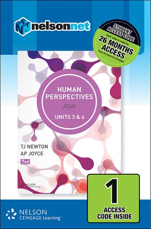 Human Perspectives Units 3 & 4 (1 Access Code Card)