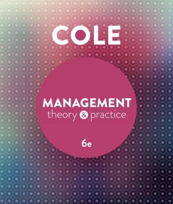 Management Theory and Practice with Online Study Tools 12 months