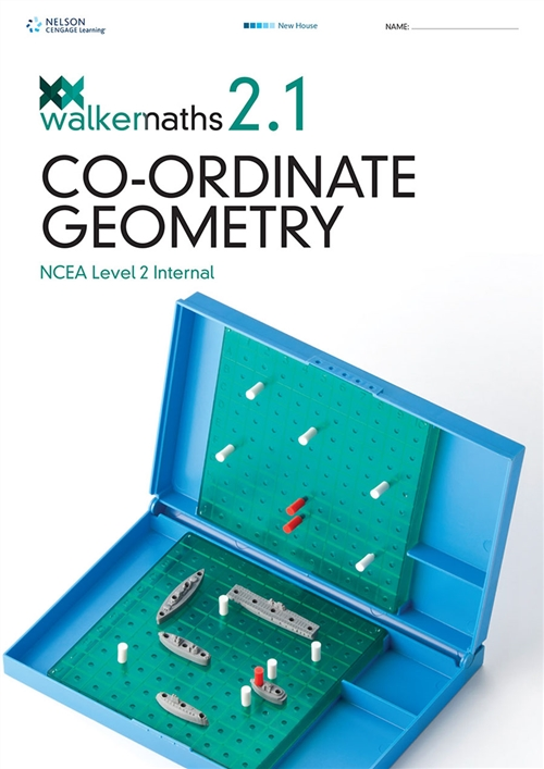 Walker Maths Senior 2.1 Co-ordinate Geometry Workbook