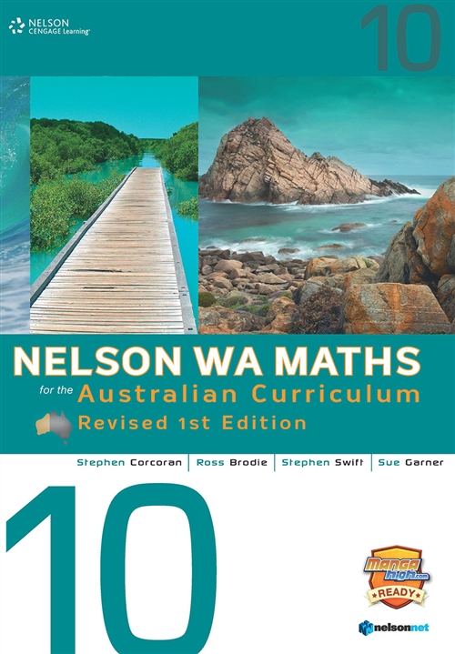 Nelson WA Maths for the Australian Curriculum 10 Revised Edition (Student Book & 4 Access Codes)