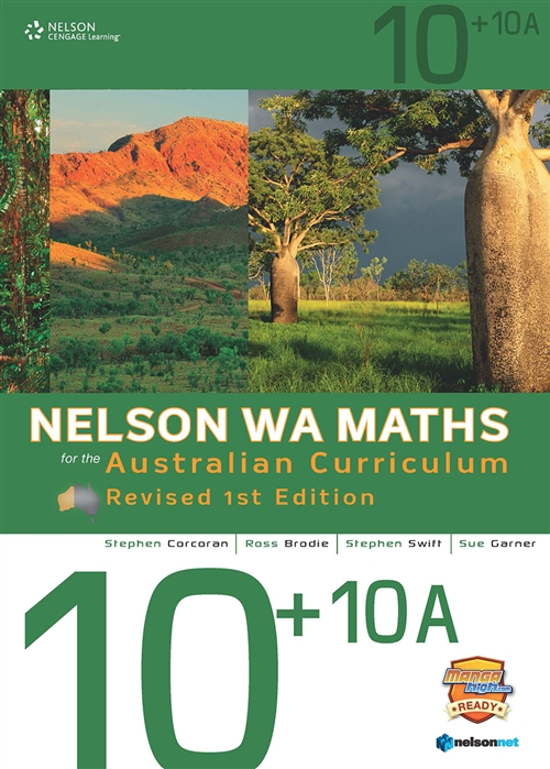 Nelson WA Maths for the Australian Curriculum 10+10A Revised (Student Book & 4 Access Codes)