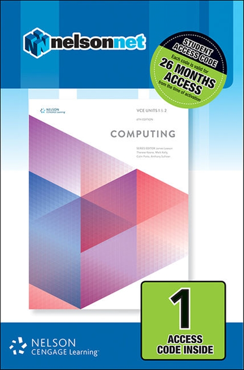 VCE Computing Units 1 & 2 (1 Access Code Card)