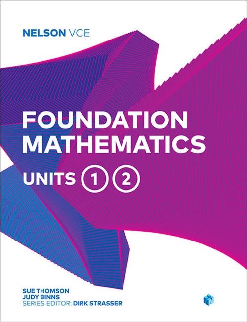 Nelson VCE Foundation Mathematics Units 1 & 2