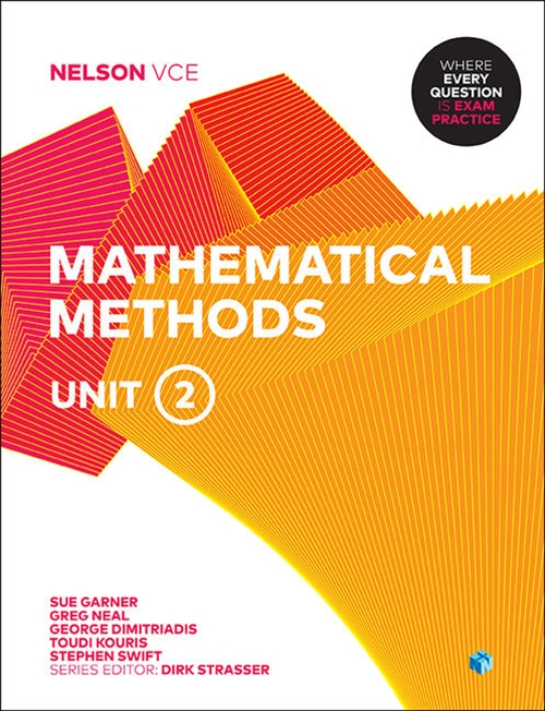 Nelson VCE Mathematical Methods Unit 2 (Student Book with 4 Access Codes)