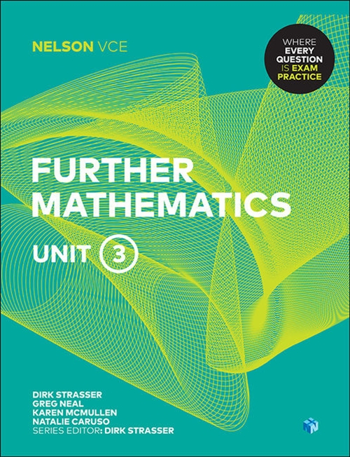 Nelson VCE Further Mathematics Unit 3 (Student Book with 4 Access Codes)