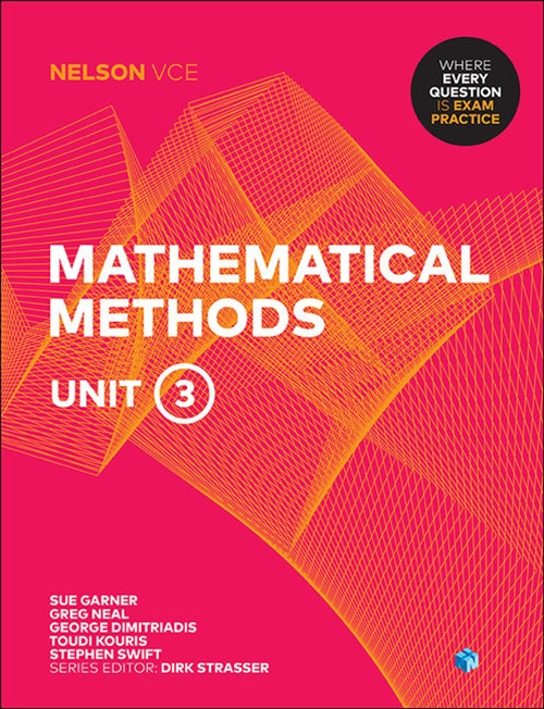 Nelson VCE Mathematical Methods Unit 3 (Student Book with 4 Access Codes)