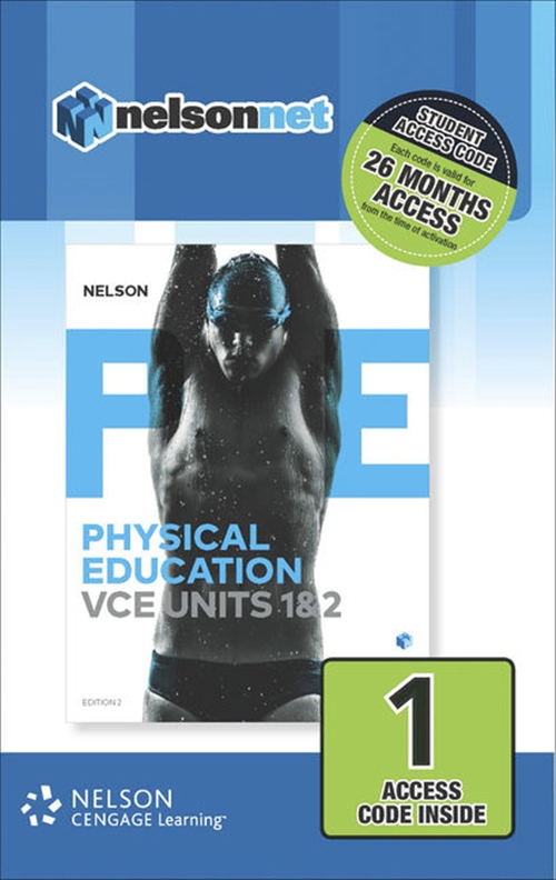 Nelson Physical Education VCE Units 1&2 1-code Access Card