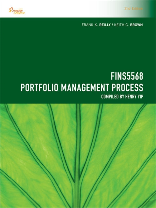 CP1089 - FINS5568 Portfolio Management Process