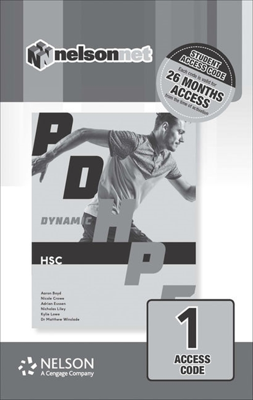 Dynamic PDHPE for HSC (1 Access Code Card)