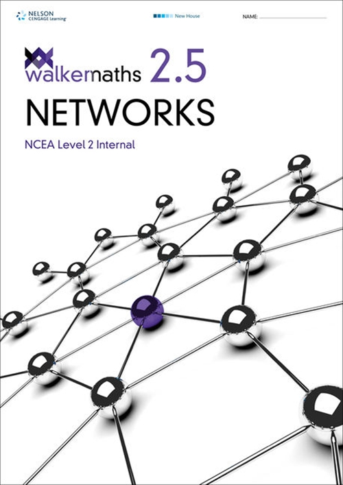 Walker Maths Senior 2.5 Networks Workbook