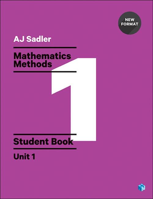 Sadler Maths Methods Unit 1 ' Revised with 2 Access Codes