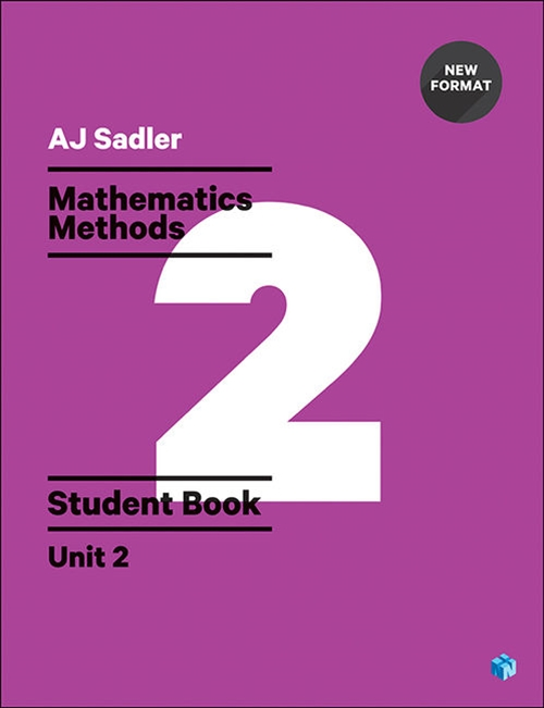 Sadler Maths Methods Unit 2 ' Revised with 2 Access Codes