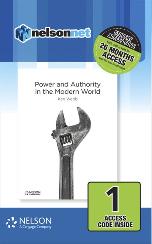 Nelson Modern History: Power & Authority in the Modern World (1 Access Code Card)