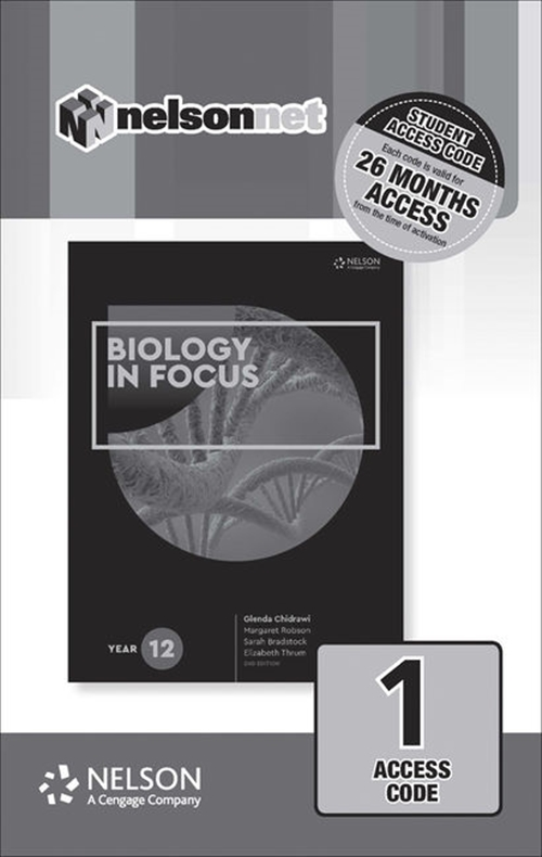 Biology in Focus Year 12 (1 Access Code Card)