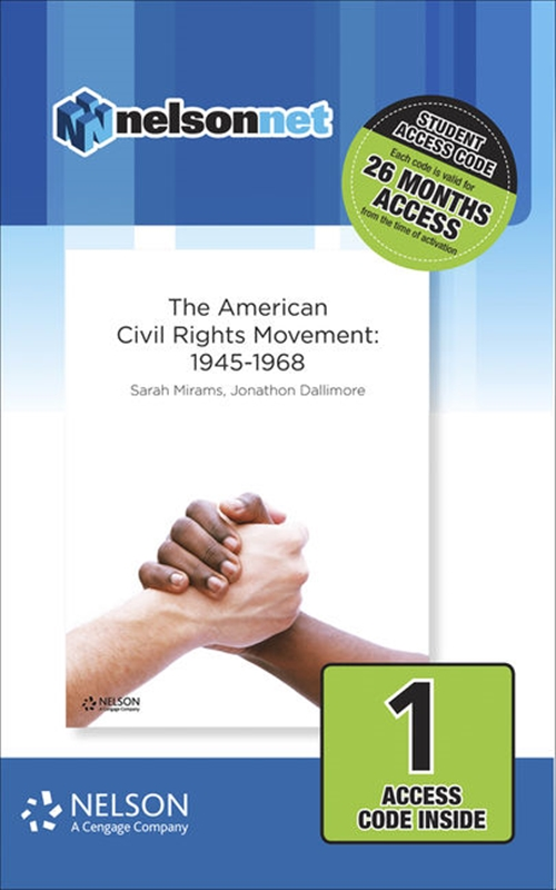 Nelson Modern History The American Civil Rights Movement: 1946-1968 (1 Access Code Card)