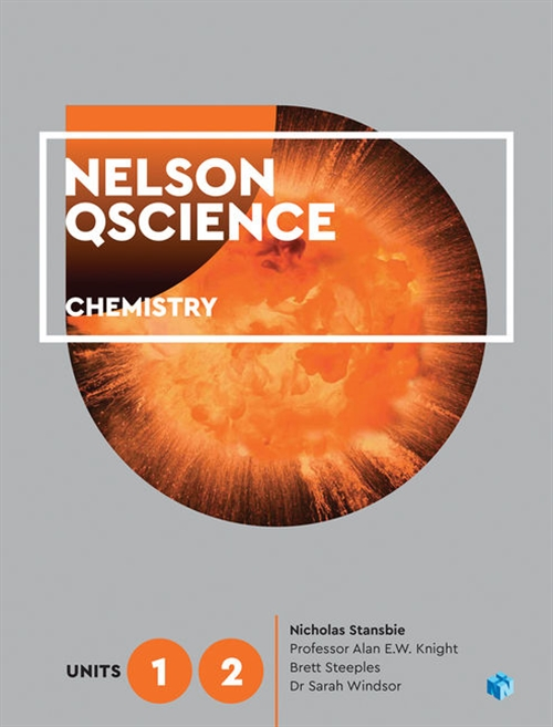 Nelson QScience Chemistry Units 1 & 2 (Student Book with 4 Access Codes)