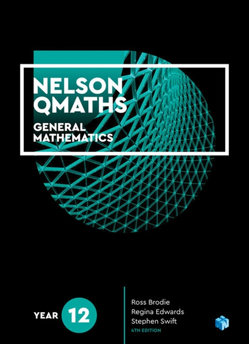 Nelson QMaths 12 Mathematics General Student Book with 1 Access Code for 26 Months