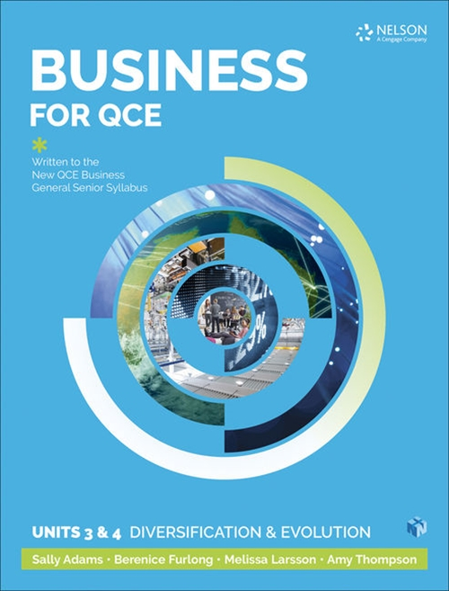 Business for QCE: Units 3 & 4: Diversification and Growth ' Student Book with 1 Access Code for 26 Months