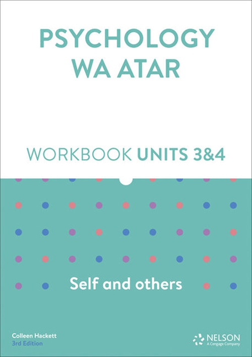 Psychology WA ATAR: Self and Others Units 3 & 4 Workbook