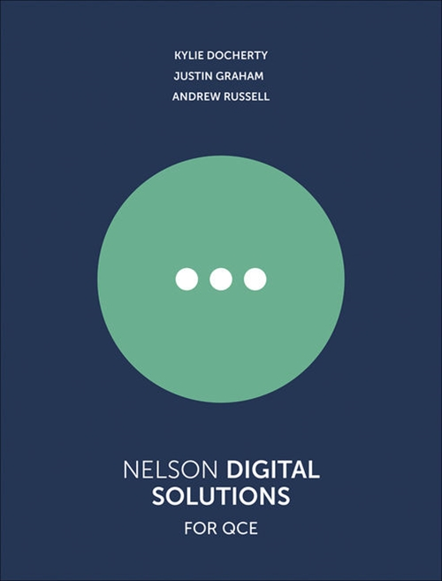 Nelson Digital Solutions for QCE Units 1'4 Student Book with 1 Access Code for 26 Months