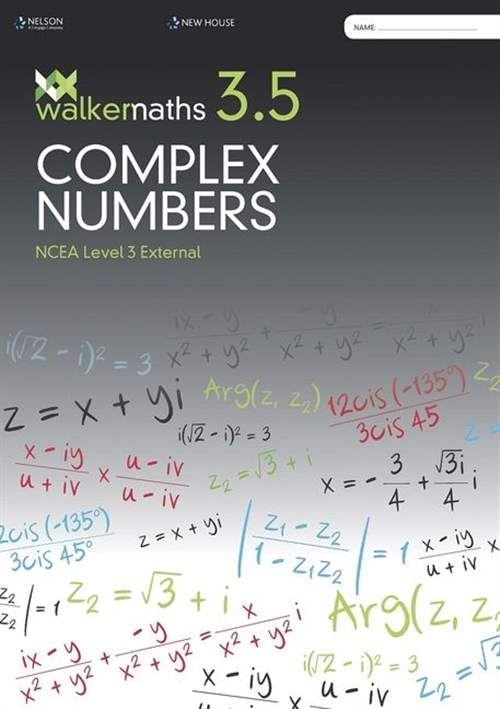 Walker Maths Senior 3.5 Complex Numbers WorkBook