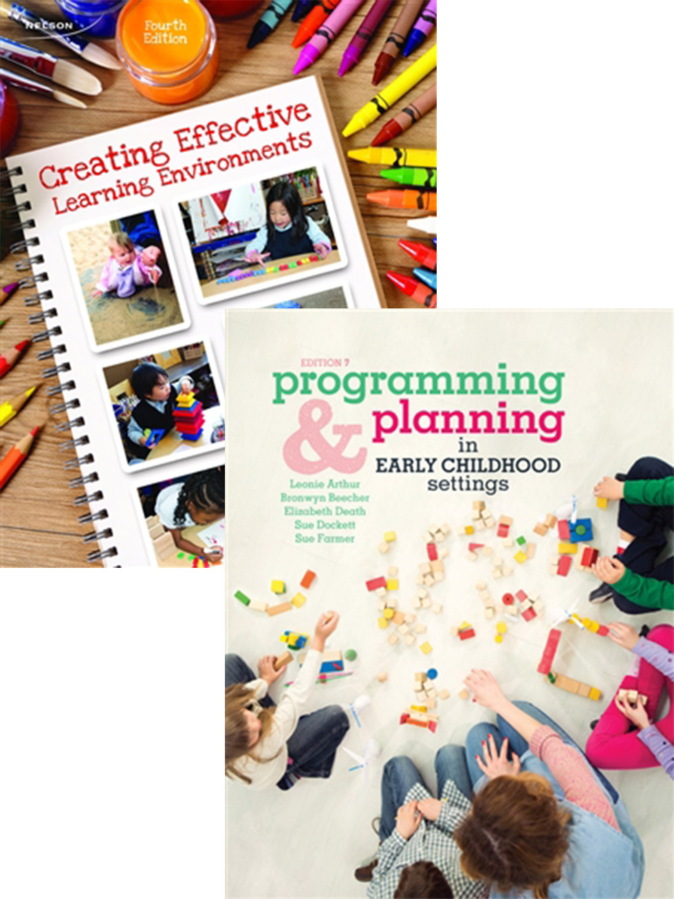 Bundle: Creating Effective Learning Environments + Programming and Planning in Early Childhood Settings with Student Resource Access 12 Months