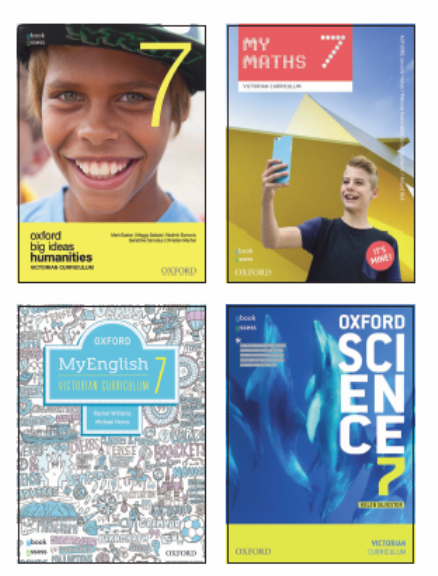Oxford Value Bundle PLUS VICTORIAN CURRICULUM YEAR 7 (print + digital)