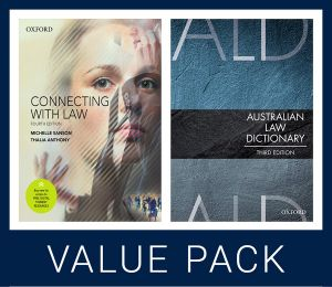 Connecting with Law 4e and Australian Law Dictionary 3e Value Pack