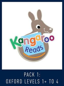 Kangaroo Reads Pack 1: Oxford Levels 1+-4