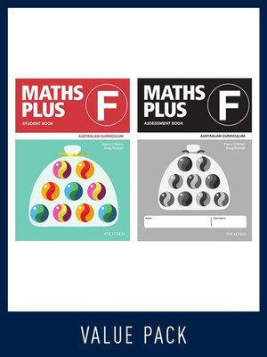Maths Plus Australian Curriculum Student and Assessment Book F Value Pack, 2020