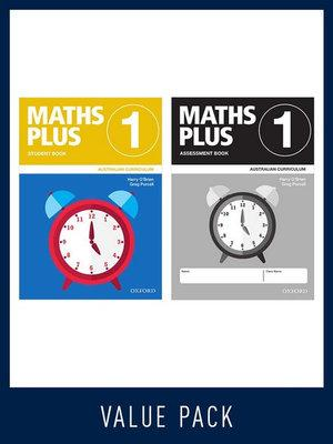 Maths Plus Australian Curriculum Student and Assessment Book 1 Value Pack, 2020