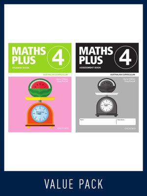 Maths Plus Australian Curriculum Student and Assessment Book 4 Value Pack, 2020