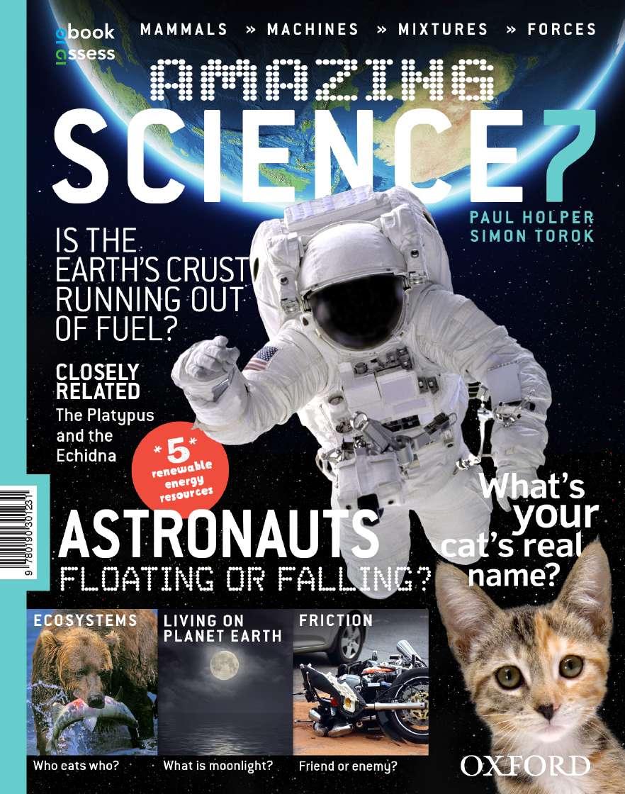 Amazing Science 7 Australian Curriculum Student Book + obook assess