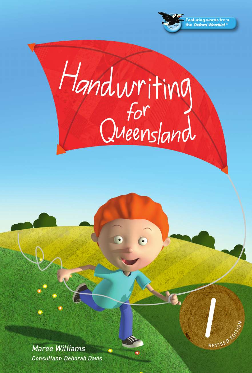 Oxford Handwriting for Queensland Revised Edition Year 1