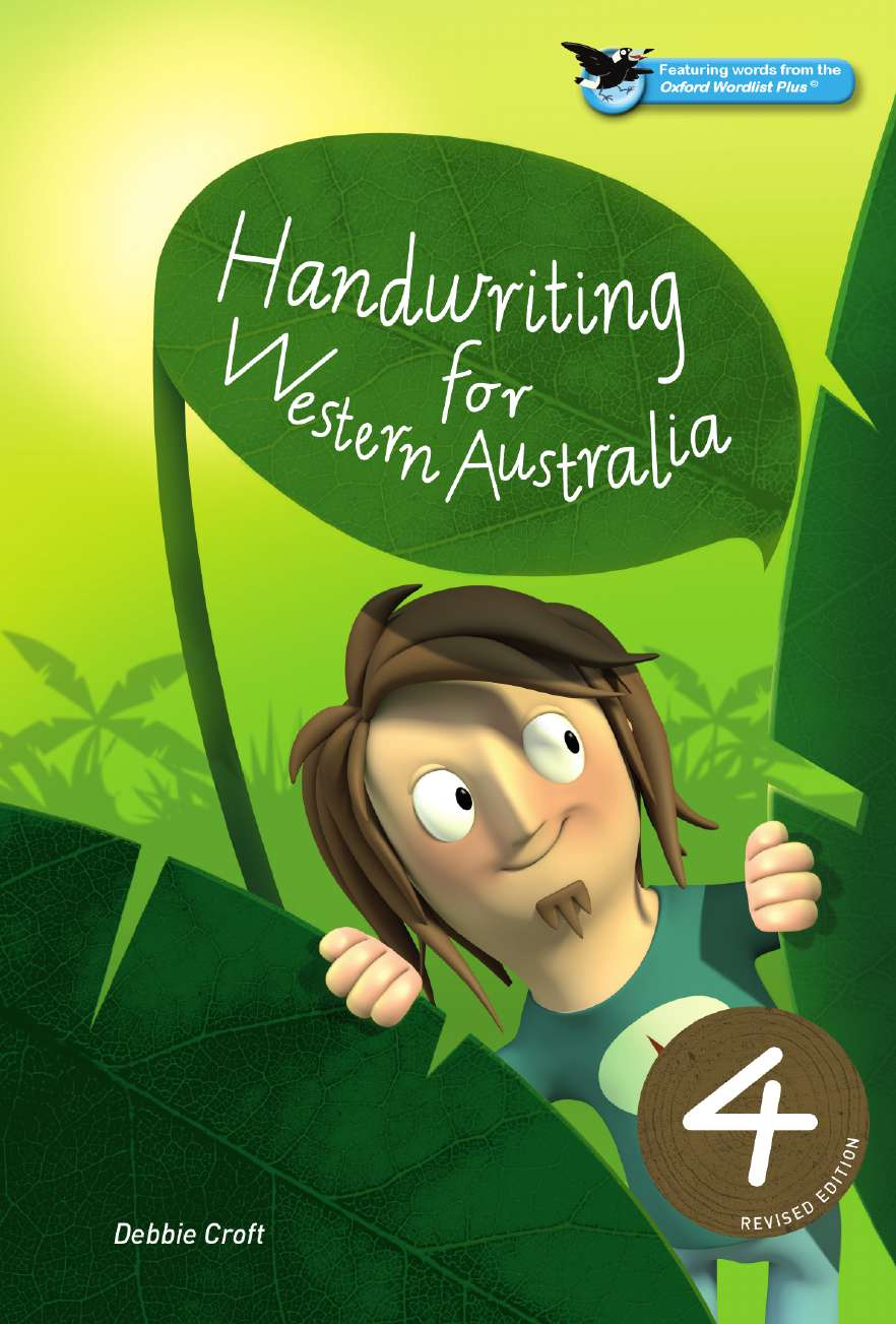 Oxford Handwriting for Western Australia Revised Edition Year 4