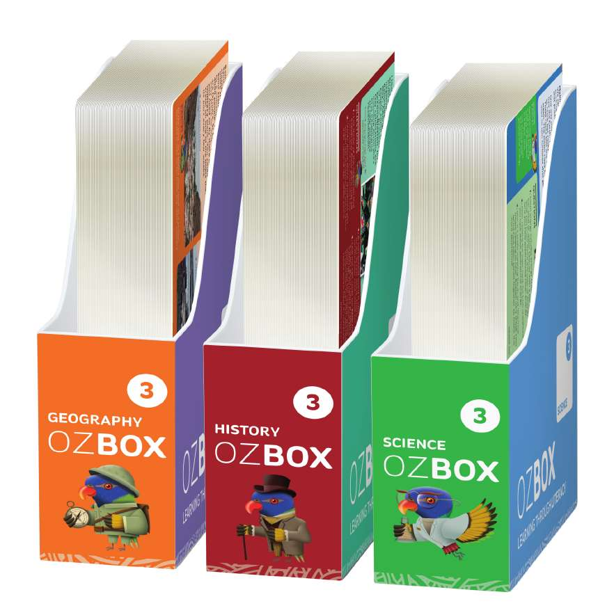OzBox: Learning Through Literacy Year 3