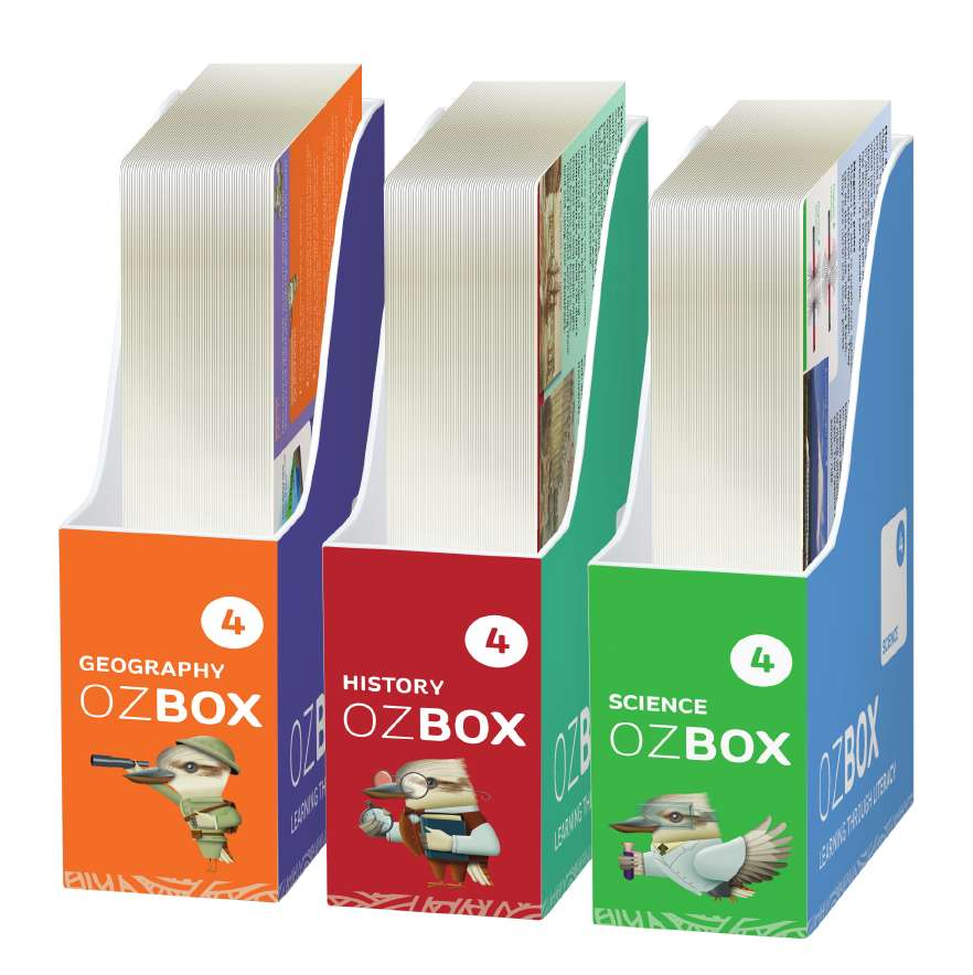 OzBox: Learning Through Literacy Year 4